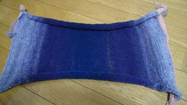 編み終わり