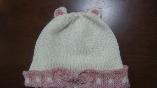 ふろしき風ゴム編み