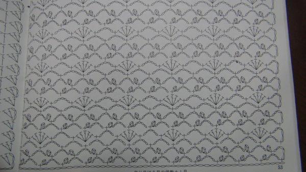 身頃の編み図